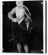 James I As A Boy, 1907 Acrylic Print