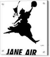 Jane Air Acrylic Print