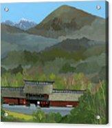 Japanese Countryside Acrylic Print