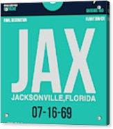 Jax Jacksonville Luggage Tag II Acrylic Print