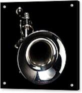 Jazz Music Trumpet Acrylic Print