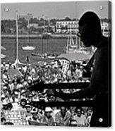 Jazz Musican At Newport Festival Acrylic Print