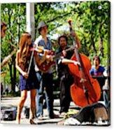 Jazz Musicians Acrylic Print