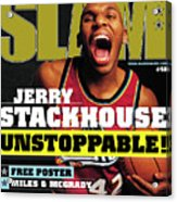 Jerry Stackouse: Unstoppable! SLAM Cover Acrylic Print