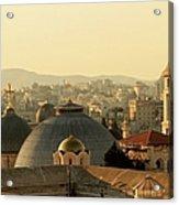 Jerusalem Churches On The Skyline Acrylic Print