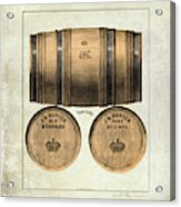 J.h. Cutter Old Bourbon Acrylic Print