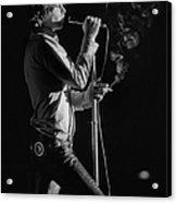 Jim Morrison Live Acrylic Print