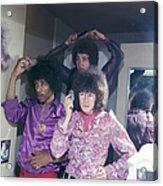 Jimi Hendrix Experience Acrylic Print