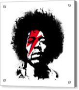 Jimi x ziggy stardust Acrylic Print