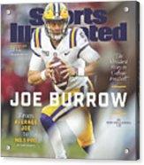 Joe Burrow From Average Joe To No. 1 Pro Sports Illustrated Cover Acrylic Print