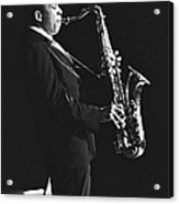 John Coltrane In Paris, France In 1963 - Acrylic Print