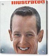 John Sellers, Horse Racing Jockey Sports Illustrated Cover Acrylic Print