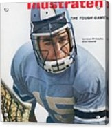 Johns Hopkins Jerry Schmidt... Sports Illustrated Cover Acrylic Print