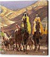 Journey Of The Magi Acrylic Print