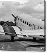 Ju-52 Taxing Acrylic Print