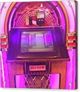 Jukebox Hero Acrylic Print