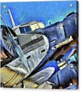 Junkers Ju 52 Art Acrylic Print