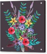 Just Flora II Acrylic Print