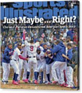 Just Maybe... Right The Last Great American Sports Story Sports Illustrated Cover Acrylic Print