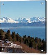 Kachemak Bay And Homer Alaska Acrylic Print