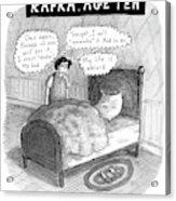 Kafka Age Ten Acrylic Print