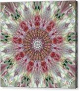 Kaleidoscope Valentine  Acrylic Print