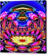 Kaleidoscopic Krystal Ball Acrylic Print