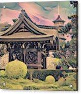 Kanagawa - The Japanese Garden Acrylic Print