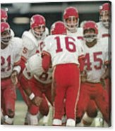 Kansas City Chiefs Offense Sports Illustrated Cover Acrylic Print