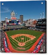 Kansas City Royals V Cleveland Indians Acrylic Print