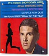 Kansas Jim Ryun, 1966 Sportsman Of The Year Sports Illustrated Cover Acrylic Print