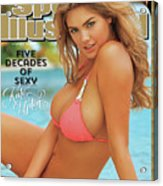 Kate Upton Swimsuit 2014 Sports Illustrated Cover Acrylic Print