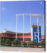 Kauffman Stadium Acrylic Print