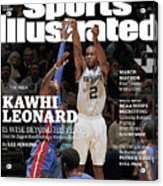 Kawhi Leonard, The Rock, Is Wise Beyond His Years Sports Illustrated Cover Acrylic Print
