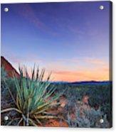 Kayenta Sunset Acrylic Print