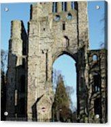 Kelso Abbey Ruin Acrylic Print