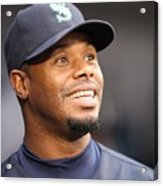Ken Griffey Jr. Retires From Seattle Acrylic Print
