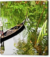 Kerala Backwaters Acrylic Print