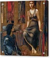 King Cophetua And The Beggar Maid 1884 Acrylic Print