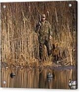Kirk Gibson Goes Duck Hunting Acrylic Print