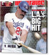 Kirk Gibson Las Big Hit Sports Illustrated Cover Acrylic Print