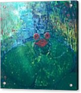 Kiss A Frog Acrylic Print