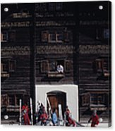 Klosters Florin House Acrylic Print