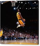 Kobe Bryant Action Portrait Acrylic Print