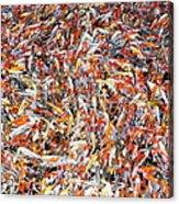 Koi Jigsaw Acrylic Print