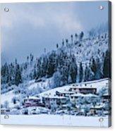Koprivshtica Winter Panorama Acrylic Print