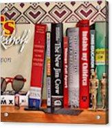 Kuji's Bookshelf Acrylic Print