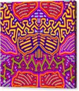 Kuna Butterfly Acrylic Print