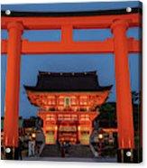 Kyoto Torii Gate Acrylic Print