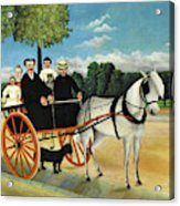 La Carriole Du Pere Junier - Digital Remastered Edition Acrylic Print